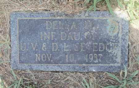 SEVEDGE, DELLA M. - Texas County, Missouri   DELLA M. SEVEDGE - Missouri Gravestone Photos
