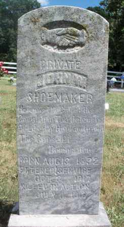 SHOEMAKER, JOHN W. VETERAN WWI KIA - Texas County, Missouri | JOHN W. VETERAN WWI KIA SHOEMAKER - Missouri Gravestone Photos