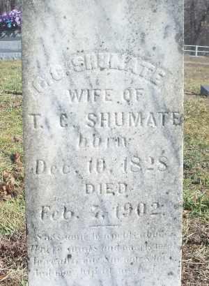 SHUMATE, C. G. - Texas County, Missouri | C. G. SHUMATE - Missouri Gravestone Photos