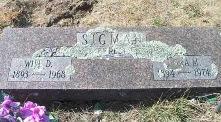 SIGMAN, WILLIAM D. - Texas County, Missouri | WILLIAM D. SIGMAN - Missouri Gravestone Photos