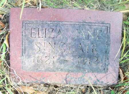 SINCLAIR, ELIZA JANE - Texas County, Missouri | ELIZA JANE SINCLAIR - Missouri Gravestone Photos