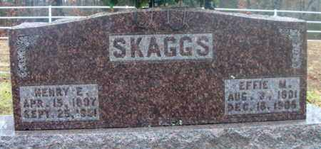 SKAGGS, HENRY ELIAS - Texas County, Missouri | HENRY ELIAS SKAGGS - Missouri Gravestone Photos