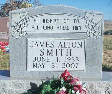 SMITH, JAMES ALTON - Texas County, Missouri   JAMES ALTON SMITH - Missouri Gravestone Photos