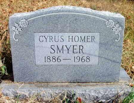 SMYER, CYRUS HOMER - Texas County, Missouri   CYRUS HOMER SMYER - Missouri Gravestone Photos