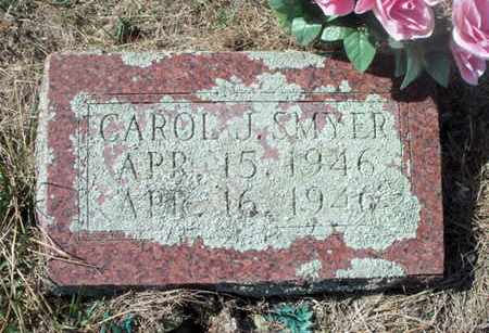 SMYER, CAROL JANE - Texas County, Missouri | CAROL JANE SMYER - Missouri Gravestone Photos