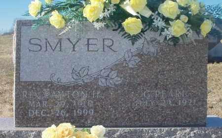 SMYER, PAYTON HUBERT REV - Texas County, Missouri   PAYTON HUBERT REV SMYER - Missouri Gravestone Photos