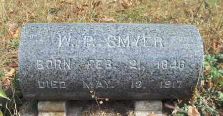 SMYER, W. P. - Texas County, Missouri | W. P. SMYER - Missouri Gravestone Photos