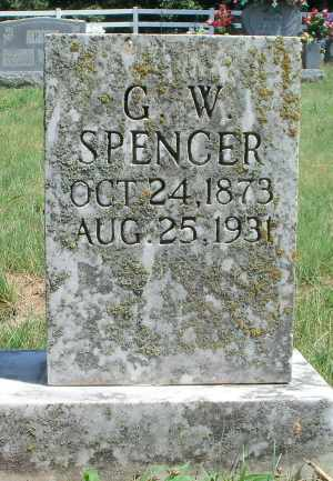 SPENCER, GEORGE W. - Texas County, Missouri | GEORGE W. SPENCER - Missouri Gravestone Photos