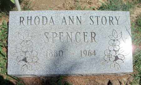SPENCER, RHODA ANN - Texas County, Missouri | RHODA ANN SPENCER - Missouri Gravestone Photos