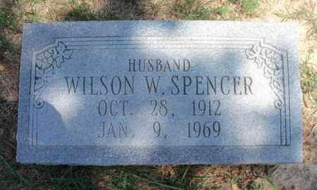 SPENCER, WILSON W. - Texas County, Missouri | WILSON W. SPENCER - Missouri Gravestone Photos