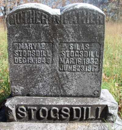 STOGSDILL, MARY ELIZABETH - Texas County, Missouri   MARY ELIZABETH STOGSDILL - Missouri Gravestone Photos