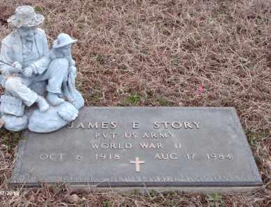 STORY, JAMES EDWARD VETERAN WWII - Texas County, Missouri | JAMES EDWARD VETERAN WWII STORY - Missouri Gravestone Photos