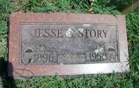 STORY, JESSE CLARENCE - Texas County, Missouri | JESSE CLARENCE STORY - Missouri Gravestone Photos