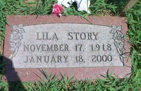 MAYBERRY STORY, LILA - Texas County, Missouri | LILA MAYBERRY STORY - Missouri Gravestone Photos