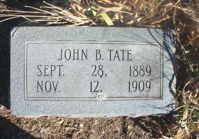 TATE, JOHN B. - Texas County, Missouri | JOHN B. TATE - Missouri Gravestone Photos
