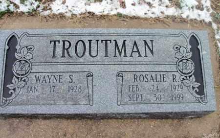 TROUTMAN, ROSALIE R. - Texas County, Missouri | ROSALIE R. TROUTMAN - Missouri Gravestone Photos