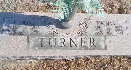 TURNER, ELIZABETH OLIVE - Texas County, Missouri | ELIZABETH OLIVE TURNER - Missouri Gravestone Photos