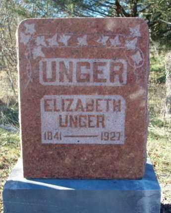 UNGER, ELIZABETH - Texas County, Missouri | ELIZABETH UNGER - Missouri Gravestone Photos