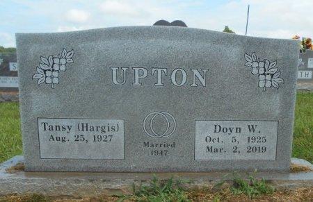 UPTON, DOYN W. - Texas County, Missouri   DOYN W. UPTON - Missouri Gravestone Photos