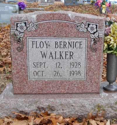 WALKER, FLOY BERNICE - Texas County, Missouri   FLOY BERNICE WALKER - Missouri Gravestone Photos