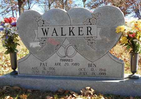 WALKER, BEN - Texas County, Missouri | BEN WALKER - Missouri Gravestone Photos