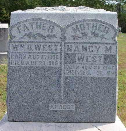 WEST, NANCY MALISSA - Texas County, Missouri | NANCY MALISSA WEST - Missouri Gravestone Photos
