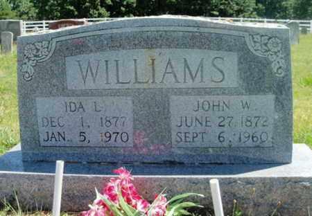 WILLIAMS, IDA L. - Texas County, Missouri | IDA L. WILLIAMS - Missouri Gravestone Photos