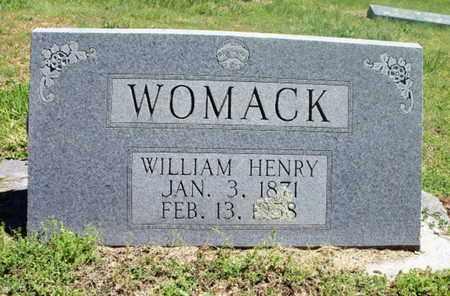 WOMACK, WILLIAM HENRY - Texas County, Missouri | WILLIAM HENRY WOMACK - Missouri Gravestone Photos