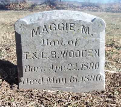WOODEN, MAGGIE M. - Texas County, Missouri | MAGGIE M. WOODEN - Missouri Gravestone Photos
