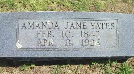 NEVILL YATES, AMANDA JANE - Texas County, Missouri   AMANDA JANE NEVILL YATES - Missouri Gravestone Photos