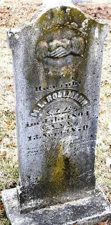 HOLLMANN, MARGARETHA LOUISA - Warren County, Missouri | MARGARETHA LOUISA HOLLMANN - Missouri Gravestone Photos