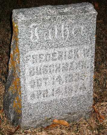 BUSCHMANN, FREDERICK - Warren County, Missouri | FREDERICK BUSCHMANN - Missouri Gravestone Photos