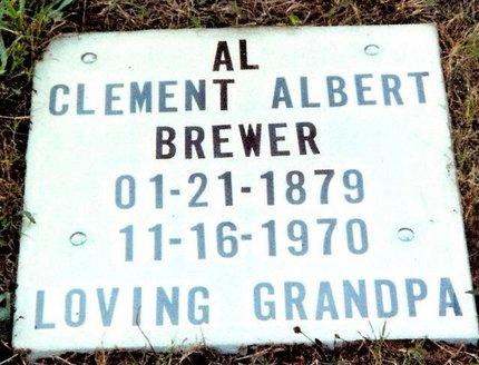 "BREWER, CLEMENT ALBERT ""AL"" - Washington County, Missouri   CLEMENT ALBERT ""AL"" BREWER - Missouri Gravestone Photos"