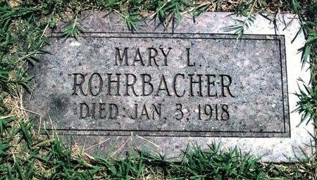 ALDERSON ROHRBACHER, MARY LEVINA - Webster County, Missouri | MARY LEVINA ALDERSON ROHRBACHER - Missouri Gravestone Photos