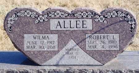 ALLEE, ROBERT L. - Worth County, Missouri | ROBERT L. ALLEE - Missouri Gravestone Photos