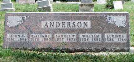 ANDERSON, SAMUEL W. - Worth County, Missouri | SAMUEL W. ANDERSON - Missouri Gravestone Photos