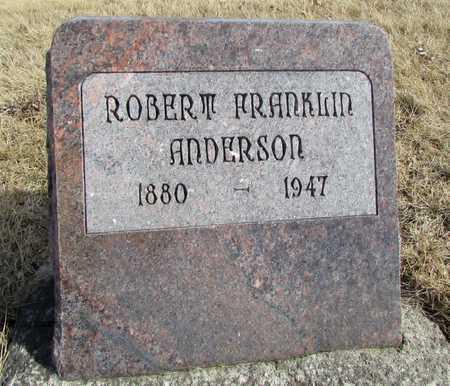 ANDERSON, ROBERT FRANKLIN - Worth County, Missouri   ROBERT FRANKLIN ANDERSON - Missouri Gravestone Photos