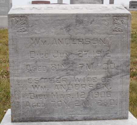 ANDERSON, ESTHER - Worth County, Missouri | ESTHER ANDERSON - Missouri Gravestone Photos