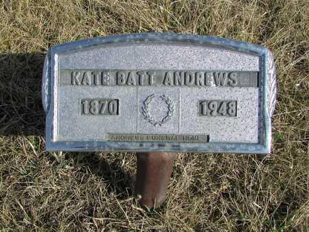ANDREWS, KATHERINE - Worth County, Missouri | KATHERINE ANDREWS - Missouri Gravestone Photos