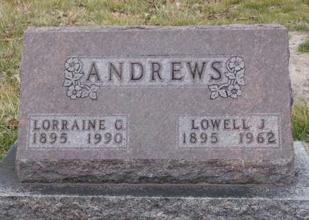 ANDREWS, LORRAINE C. - Worth County, Missouri | LORRAINE C. ANDREWS - Missouri Gravestone Photos