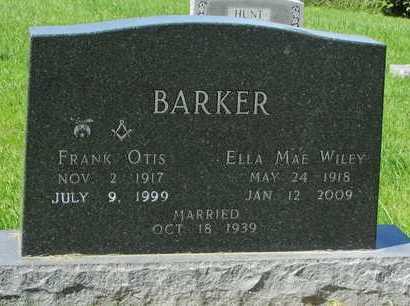 BARKER, FRANK OTIS - Worth County, Missouri | FRANK OTIS BARKER - Missouri Gravestone Photos