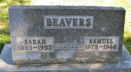BEAVERS, SAMUEL - Worth County, Missouri | SAMUEL BEAVERS - Missouri Gravestone Photos