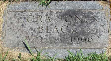 BLACK, CORA - Worth County, Missouri | CORA BLACK - Missouri Gravestone Photos