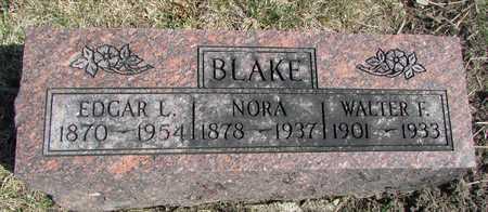 BLAKE, NORA - Worth County, Missouri | NORA BLAKE - Missouri Gravestone Photos