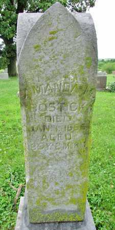 KOUNS BOSTICK, AMANDA M. - Worth County, Missouri | AMANDA M. KOUNS BOSTICK - Missouri Gravestone Photos