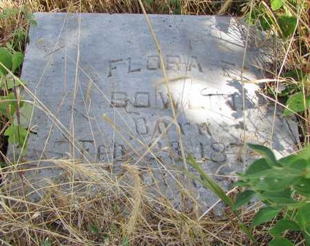 ASHER BOWLIN, FLORA E. - Worth County, Missouri   FLORA E. ASHER BOWLIN - Missouri Gravestone Photos