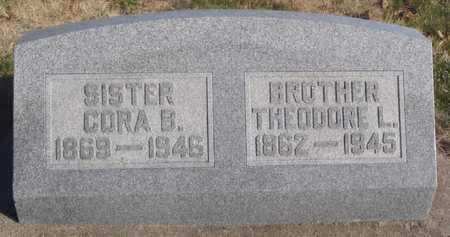 BRESSLER, CORA BELL - Worth County, Missouri | CORA BELL BRESSLER - Missouri Gravestone Photos