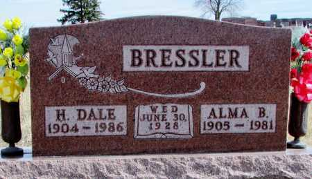 BRESSLER, ALMA B. - Worth County, Missouri | ALMA B. BRESSLER - Missouri Gravestone Photos