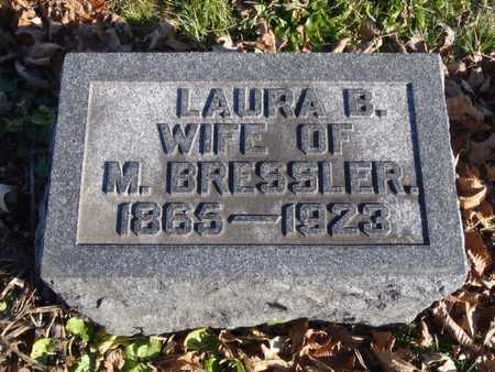 BRESSLER, LAURA B. - Worth County, Missouri | LAURA B. BRESSLER - Missouri Gravestone Photos