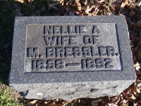 BRESSLER, NELLIE A. - Worth County, Missouri | NELLIE A. BRESSLER - Missouri Gravestone Photos